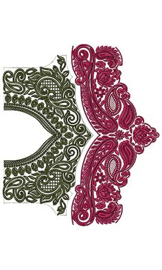 9567 Blouse Embroidery Design