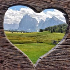 The largest high altitude Alpine meadow in Europe Seiser Alm Alpe di Siusi Italy. World Photography, Travel Photography, Alpine Meadow, Love Photos, Vacation Trips, Vacations, Wonderful Places, Travel Inspiration, Nature