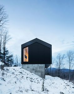 Bolton Residence in Quebec, by Naturehumaine