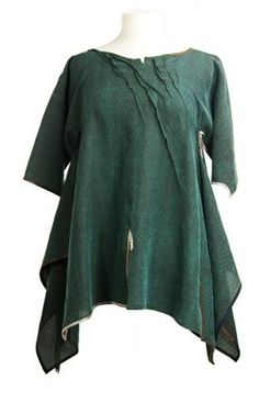 Sophie Hong 100% silk top. Elbow length sleeves, unstructured, beautiful piping.