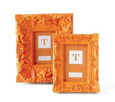 Modern Renaissance Frame Brite Orange Large