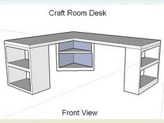 how to design a craft room - Google Search