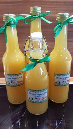 Ingwer Zitronen Honig Sirup (mit Erhalt von Vitaminen), gut bei Erkältung oder zur Vorbeugung! von Petra Feinschmecker auf www.rezeptwelt.de, der Thermomix ® Community