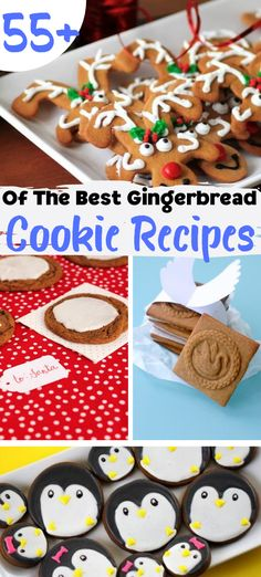 55  Of The Best Gingerbread Christmas Cookie Recipes #recipes #christmas #gingerbread Creative Christmas Food, Edible Christmas Gifts, Christmas Gingerbread, Christmas Cookies, Favorite Cookie Recipe, Best Cookie Recipes, Baking Recipes, Favorite Recipes, Best Gingerbread Cookie Recipe