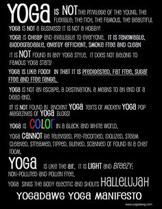 yoga is...inspiration www.thehouseofhealthy,com #yoga #inspiration #love #color