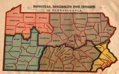 Here's a map for #genealogy of #PA of insane asylum districts  https://www.facebook.com/heritage4nsics/photos/a.427026234022455.101226.141832215875193/760113950713680/?type=1