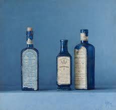 Botellas de farmacias antiguas -