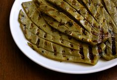 grilled nopales... add some mayo mmm