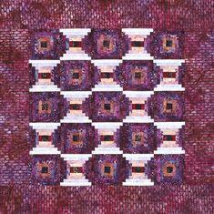 Batik Courthouse Steps Quilt Pattern-Free