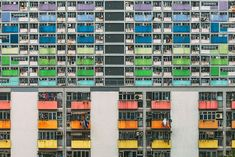 Looking Up In Hong Kong: The Overwhelming Symmetry Of This Metropolis' Highrises
