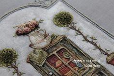 평온 위에 놓은 프랑스 자수 : 네이버 블로그 Embroidered Roses, Wreaths, Home Decor, Room Decor, Garlands, Home Interior Design, Decoration Home, Floral Arrangements, Flower Garlands