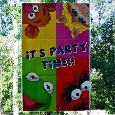 Banners Muppets Teens - Artículos de Fiesta