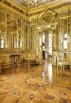 Hall of Mirrors at the Palazzo Terzi, Bergamo
