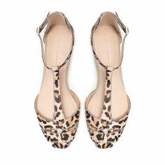 cheat leather sandal...once again, i love you zara