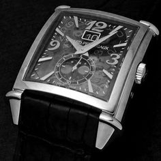 いいね!367件、コメント3件 ― Girard-Perregauxさん(@girardperregaux)のInstagramアカウント: 「Mechanics of Artdeco. Vintage 1945 large date moonphase with sapphire dial shot by blomman…」