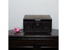 Marrakesh Medium Jewellery Box - Black
