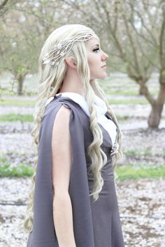 "Adel Cosplay as Galadriel from ""The Hobbit."" Photo by Milano Photography."
