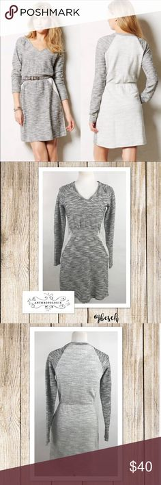 Anthropologie Saturday Sunday Gael Dress This adorable Anthropologie Saturday Sunday Gael fit and flare dress is 100% cotton. It's a pullover dress and has side pockets. 💕Johnna Anthropologie Dresses Midi