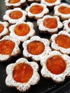 Galletas rellenas de mermelada de Calabaza