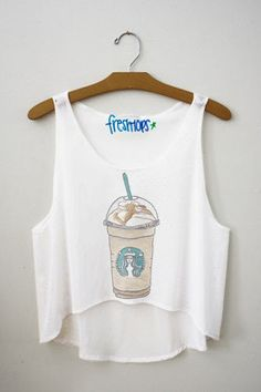 cara frap crop top - Fresh-tops.com