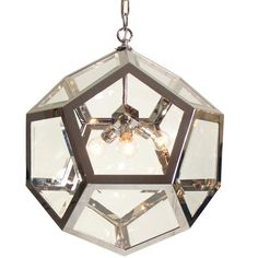 Hanging lamp designed by Adolph Loos . . . in 1909!