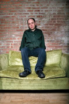 Comedians Portraits  Mr. Depressed give it up for Todd Barry