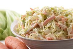 Coleslaw is a cabbage salad mixed with mayonnaise and other vegetables. This is one of the favorite salads of Filipinos, normally served in burgers or as a side dish. It's actually not that hard to make Coleslaw. With the right Continue reading → Coleslaw Salad, Creamy Coleslaw, Món Salad, Vinegar Coleslaw, Coleslaw Dressing, Healthy Meals, Easy Meals, Healthy Eating, Healthy Recipes