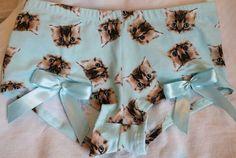 underwear cats blue panties kawaii cats bows purr pajamas pastel pastel goth pastel grunge emo goth cool