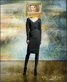 Tv Head by johnasnell.deviantart.com on @deviantART