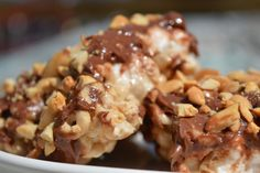 Salted Peanut Chocolate Frosted Cheerio Bars-gluten free