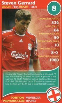 2007 Top Trumps Specials Liverpool #NNO Steven Gerrard Front