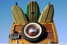 #Wood panels make any car a classic.