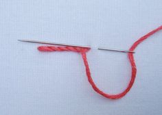 a wonderful explanation of exactly how to work stem stitch.  materialistic: Stem stitch vs outline stitch