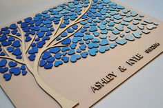 Hey, I found this really awesome Etsy listing at https://www.etsy.com/listing/262641401/3d-wedding-guest-book-alternative-tree