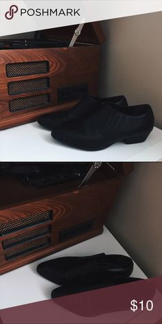 Black Retro Dress Shoes Vintage / cute style / MAKE AN OFFER Shoes Flats & Loafers