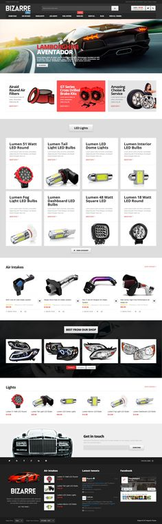 Responsive Magento Theme #website #webshop #ecommerce Download: http://themeforest.net/item/bizarre-responsive-magento-theme/8874743?ref=ksioks