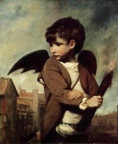 Cupid as a Link Boy, 1773  Joshua Reynolds