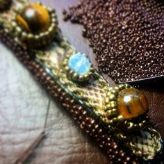 Getting there- #MerriaMBatara #jewellery #design #handmade #gemstones
