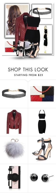 """dojgiodfr"" by horan-69 on Polyvore featuring мода, Humble Chic, Chanel, Balenciaga, Dena, Gianvito Rossi и Kate Spade"