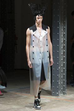 Comme des Garçons Homme Plus Spring 2017 Menswear Fashion Show