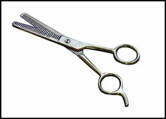 C356 - ICE Tempered 6.5'' Thinning Shears Single-Side Teeth( sp13 245-sb ) s v