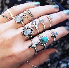 Beautiful rings.