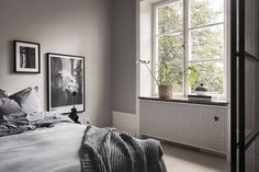 Kitchen, living room and bedroom in one - via Coco Lapine Design blog