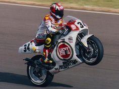 #MotoGP. Kevin Schwantz on his Suzuki RGV 500 prior to winning the '93 500 world championship.