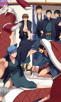 Kuroko no basket images Manga Anime, Fanarts Anime, All Anime, Anime Guys, Anime Characters, Kuroko No Basket, Kiseki No Sedai, Akakuro, Generation Of Miracles