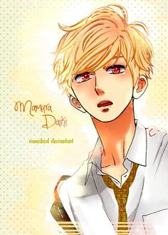 Best character ever !  Hirunaka no Ryuusei - I love this manga !