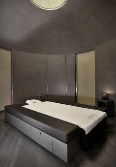Armani / Spa treatment room at the Armani Hotel Dubai  _