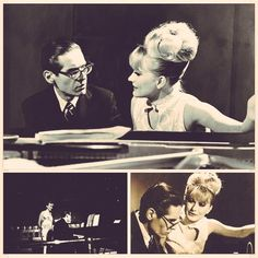"""Talent is cheap, and many talents treat themselves cheaply"" - Bill Evans pictured with Monica Zetterlund."