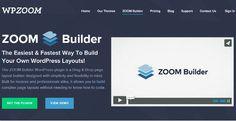 Zoom Builder - A New Drag & Drop Wordpress Page Builder Plugin - Platina Studio Blog