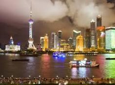 size: Photographic Print: Pudong Skyline at Night, Seen from M on the Bund Restaurant by Greg Elms : The Bund, Adventure Is Out There, Digital Technology, Professional Photographer, Shanghai, Find Art, Framed Artwork, New York Skyline, Stuff To Do